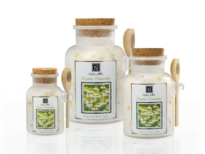 Gentle Bath Salt Organic Chamomile Relaxing Luxury Experience