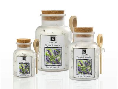 Lavender Floral Natural Best Bath Salt Gentle Dead Sea