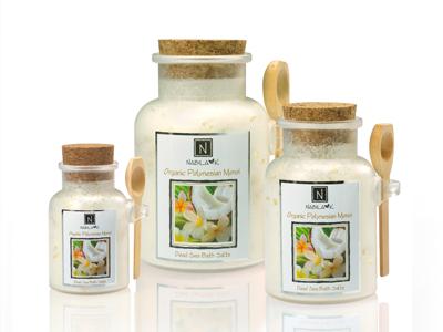 Polynesian Monoi Best Bath Salt Aromatherapy Luxury
