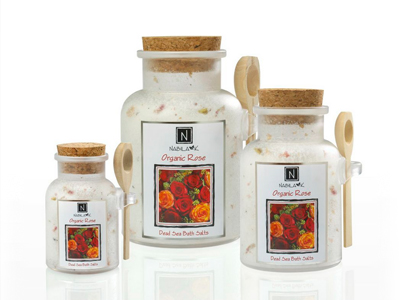Garden Rose Bath Salt Scented Smells Amazing Organic
