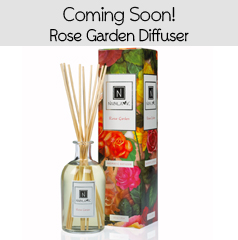 New Organic Rose Natural Aromatherapy Diffuser