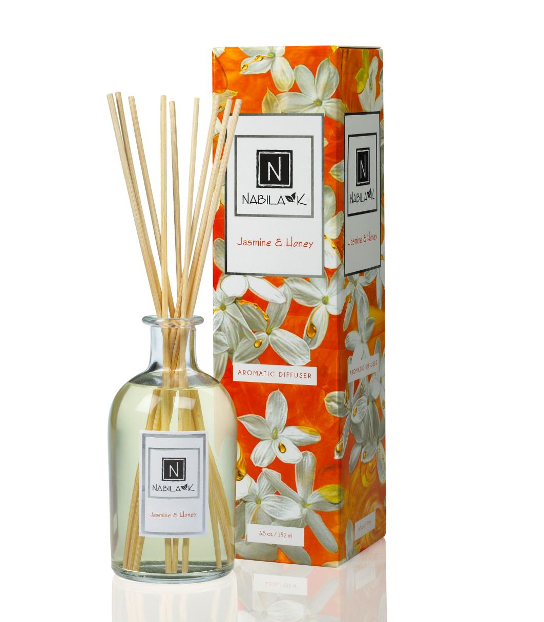 Beautiful Jasmine and Honey Essential Oil Diffuser