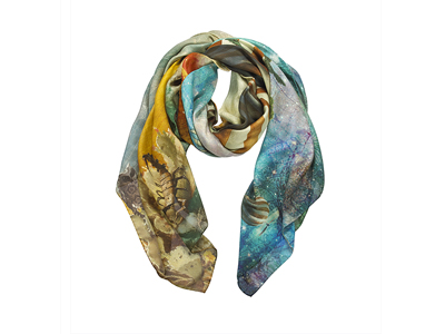 Softest Best Italian Cashmere Scarves Natural Fibers Nomad Spice