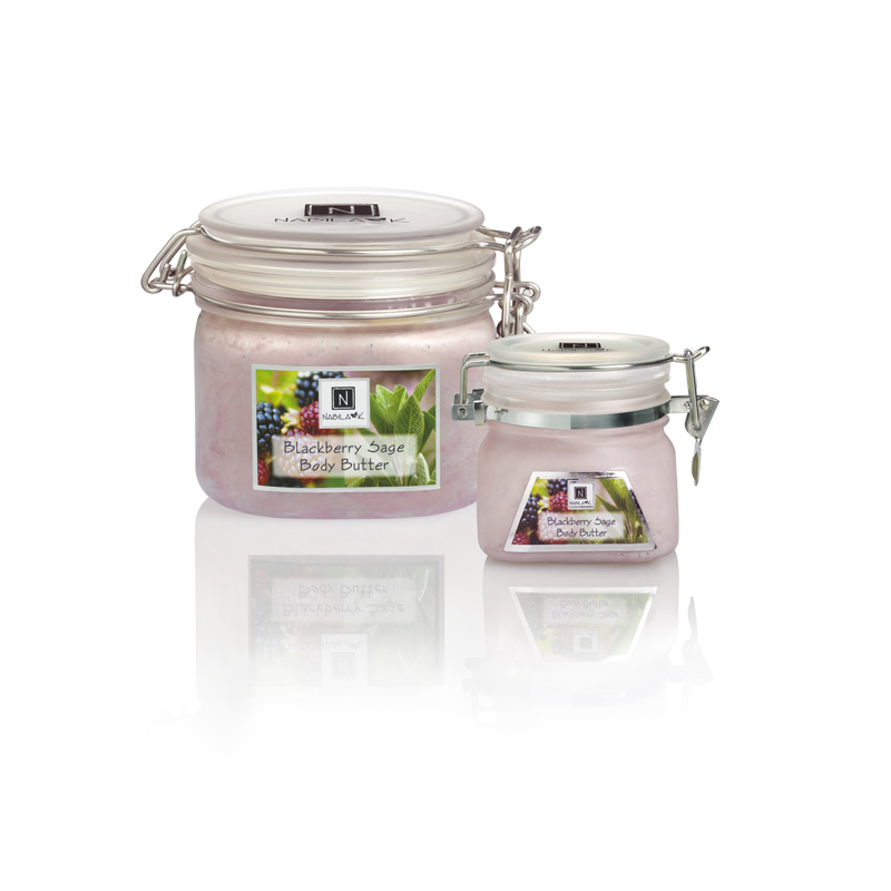 All Natural and Cruelty-Free Blackberry and Sage Body Butters With Quality Extracts Vitamins, And Essential Oils