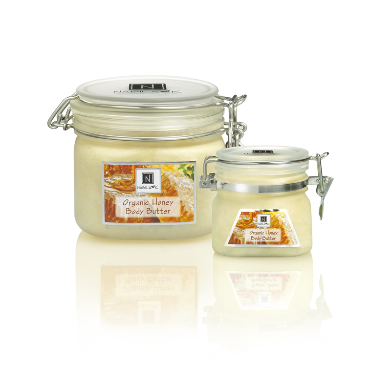 All natural and cruelty-free Organic Honey body butters enriched with Vitamins E & C along with the healing elements of raw manuka honey