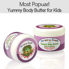 Gentle, Calming Body Butter for Baby and Kids