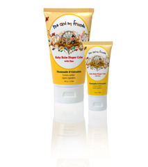 Gentle, Soothing Baby Balm Diaper Calm to Moisturize and Protect Baby with Chamomile and Calendula