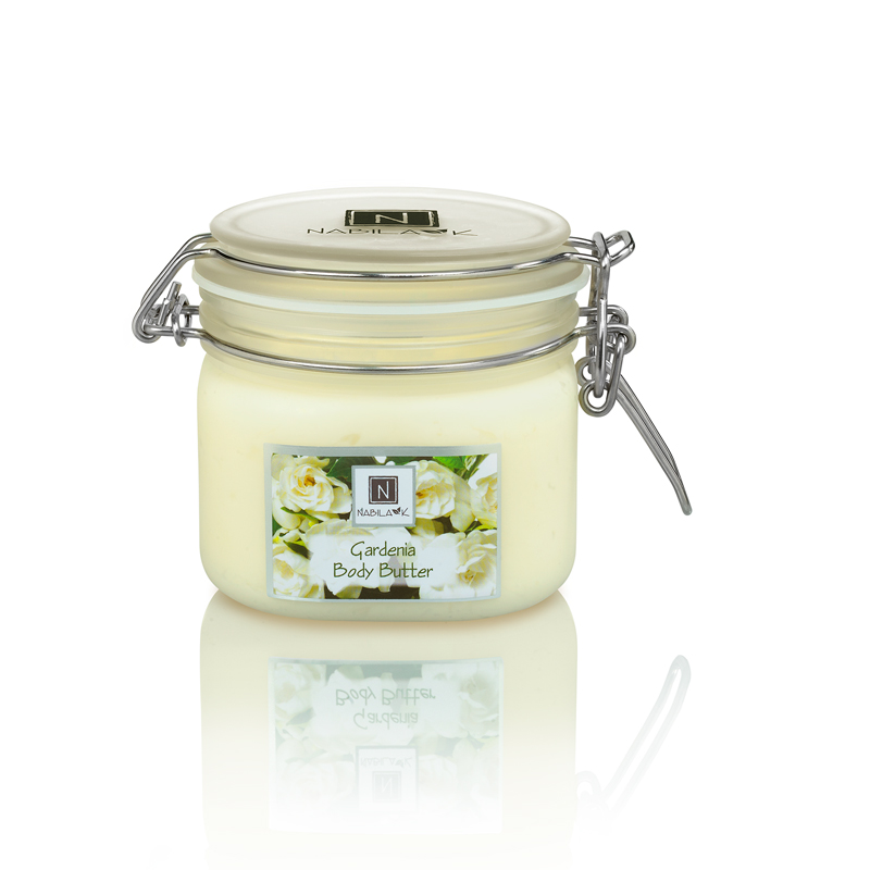 All natural and cruelty-free Gardenia body butters made with a combination of oils and all natural Gardenia extracts