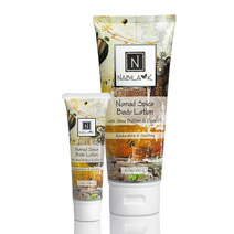 All natural and cruelty-free Safari at Dusk Body Lotion made with oils naturally occurring in fruits, trees, and spices of the Far East